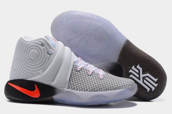 Фото Nike Kyrie 2 серые - 2
