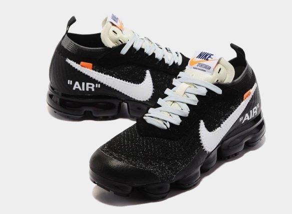 Фото OFF-WHITE x Nike Air Vapormax черные - 3