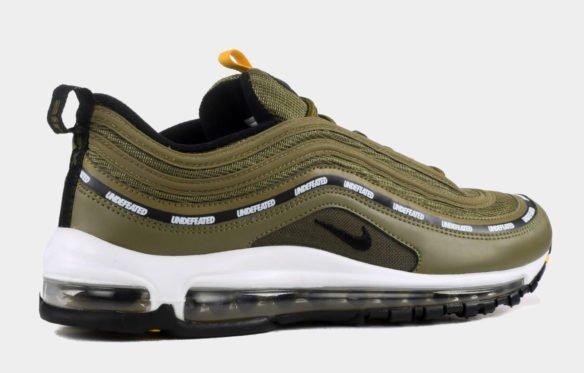 Фото Undefeated x Nike Air Max 97 зеленые с белым - 3