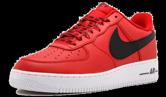 Фото Nike Air Force 1 LV8 NBA красные - 1